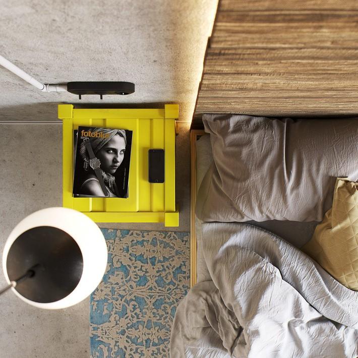 3 mẫu thiết kế phòng ngủ tràn ngập chất nghệ thuật đương đại khiến bạn thích mê - Ảnh 3.