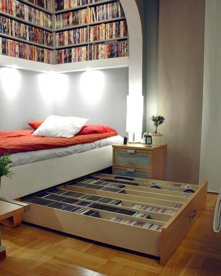 15 thiết kế lưu trữ tuyệt đẹp và gọn gàng cho phòng ngủ của bạn - Ảnh 3.