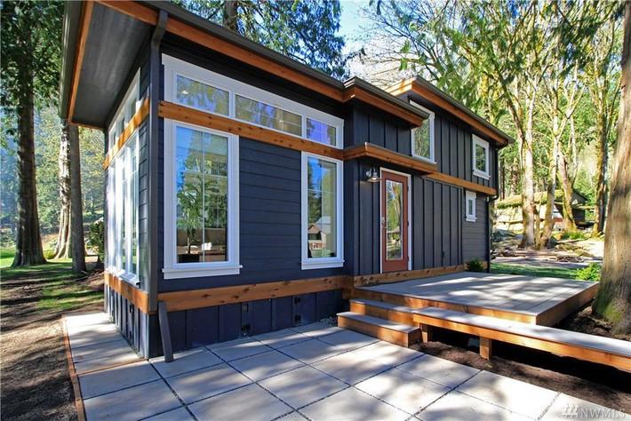Học hỏi cách thiết kế của ngôi nhà nhỏ 37m² tiện lợi đủ đường - Ảnh 4.