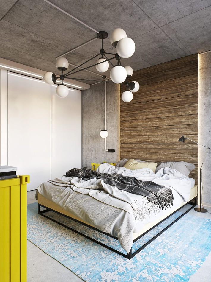 3 mẫu thiết kế phòng ngủ tràn ngập chất nghệ thuật đương đại khiến bạn thích mê - Ảnh 4.
