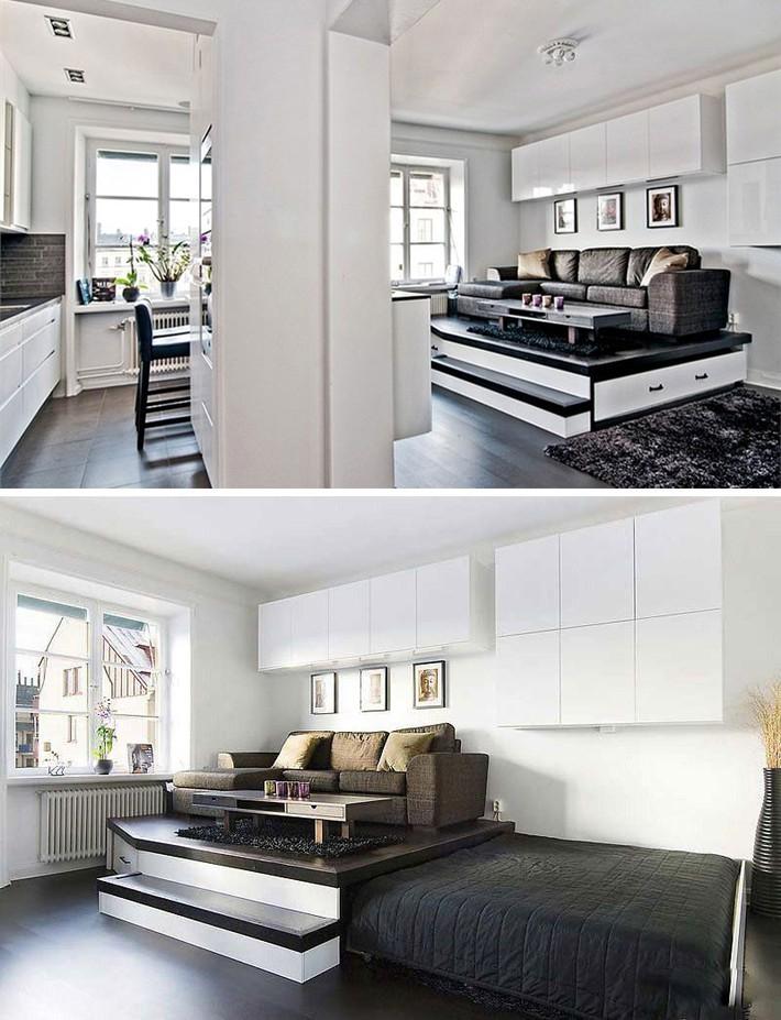 15 thiết kế lưu trữ tuyệt đẹp và gọn gàng cho phòng ngủ của bạn - Ảnh 4.