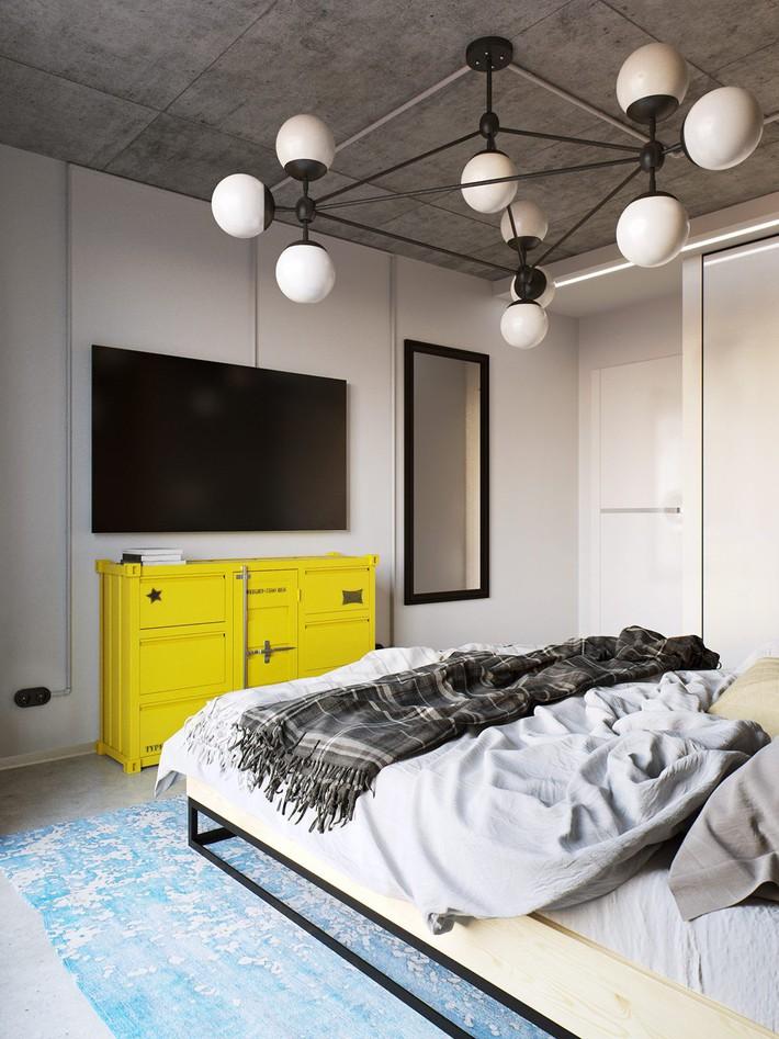 3 mẫu thiết kế phòng ngủ tràn ngập chất nghệ thuật đương đại khiến bạn thích mê - Ảnh 5.
