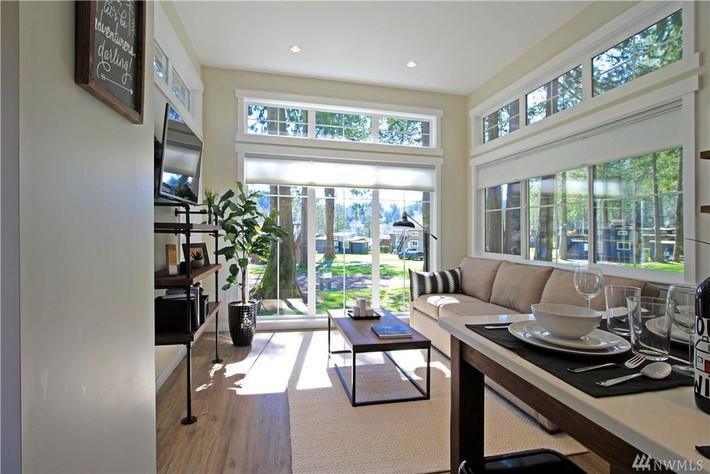 Học hỏi cách thiết kế của ngôi nhà nhỏ 37m² tiện lợi đủ đường - Ảnh 6.
