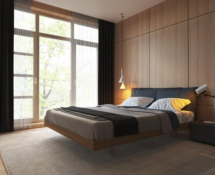3 mẫu thiết kế phòng ngủ tràn ngập chất nghệ thuật đương đại khiến bạn thích mê - Ảnh 7.