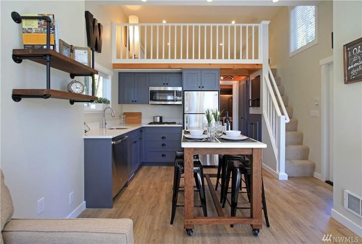 Học hỏi cách thiết kế của ngôi nhà nhỏ 37m² tiện lợi đủ đường - Ảnh 8.