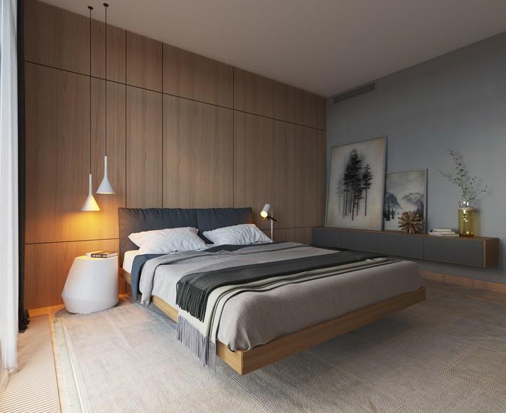 3 mẫu thiết kế phòng ngủ tràn ngập chất nghệ thuật đương đại khiến bạn thích mê - Ảnh 8.
