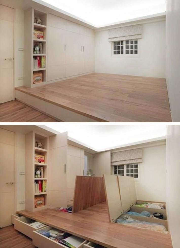 15 thiết kế lưu trữ tuyệt đẹp và gọn gàng cho phòng ngủ của bạn - Ảnh 8.