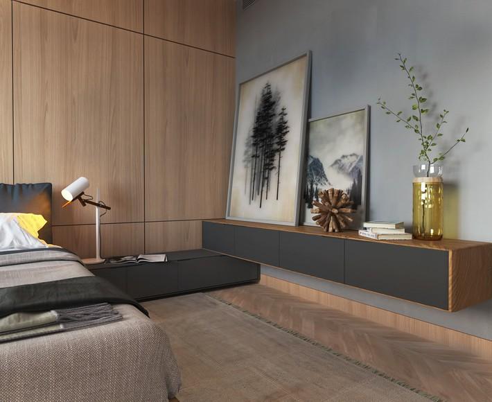 3 mẫu thiết kế phòng ngủ tràn ngập chất nghệ thuật đương đại khiến bạn thích mê - Ảnh 9.