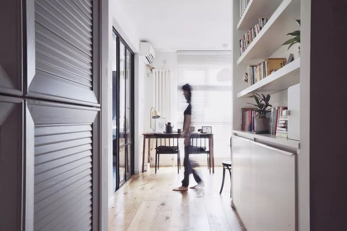 Căn hộ 48m² vô cùng ấn tượng với phong cách Scandinavia của cô gái độc thân - Ảnh 4.