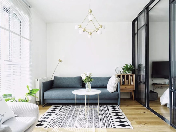 Căn hộ 48m² vô cùng ấn tượng với phong cách Scandinavia của cô gái độc thân - Ảnh 12.