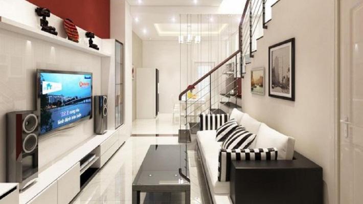 Tư vấn thiết kế nhà ống hẹp với diện tích 30m² cho gia đình 5 người ở đủ sáng và hợp phong thủy - Ảnh 6.