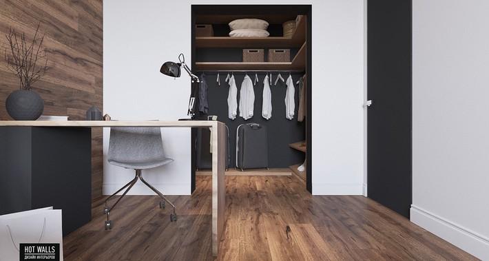 Căn hộ 80m² với gam màu tối nhưng đem lại hiệu quả tuyệt vời  - Ảnh 6.