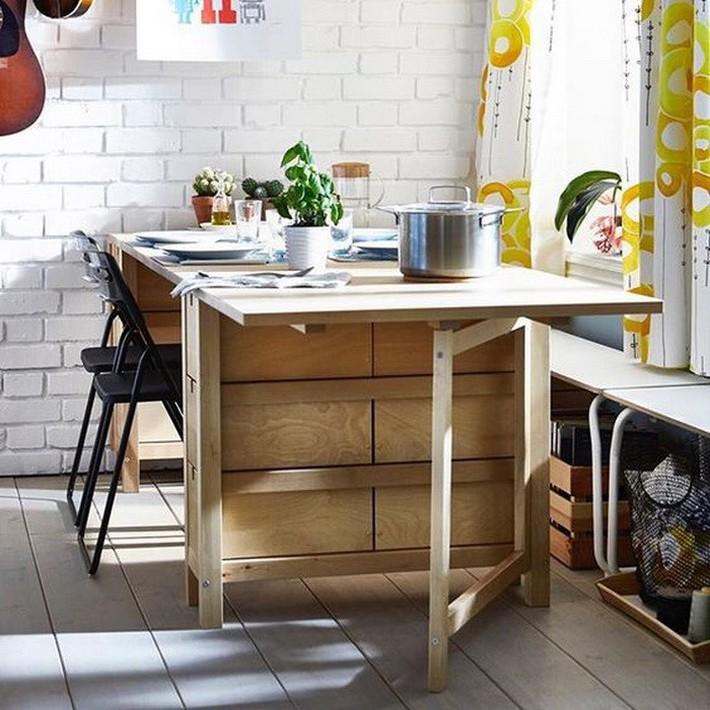 Mẫu thiết kế bàn thông minh không những tối ưu không gian cho phòng bếp mà còn có rất nhiều lợi ích khác - Ảnh 4.