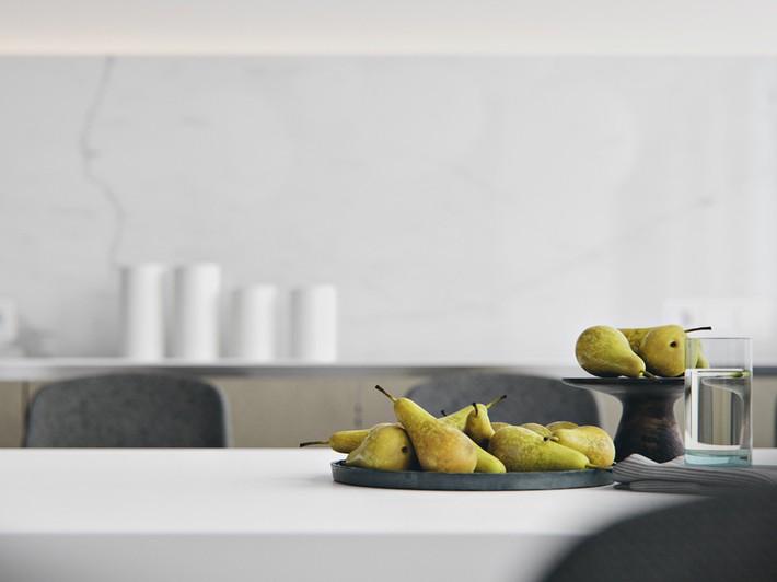 Căn hộ tối giản nhưng vẫn cực kỳ hiện đại và thu hút bởi sắc trắng thanh lịch - Ảnh 7.