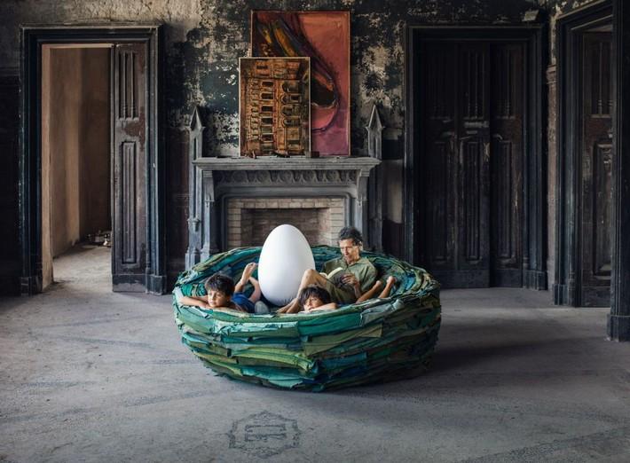 Một thiết kế nhiều công dụng, chiếc ghế đặc biệt giúp con dân kết nạp thêm lý do chính đáng để nằm ườn ở nhà đây rồi  - Ảnh 7.