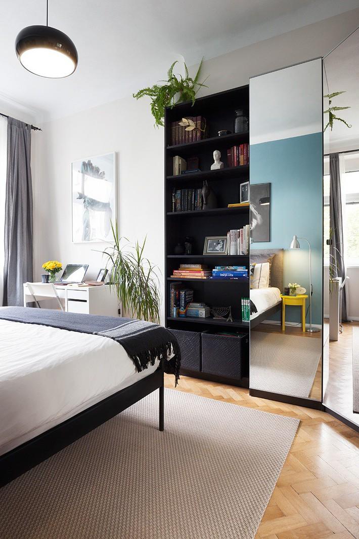 Căn hộ rộng 45m² trở nên bắt mắt vô cùng chỉ nhờ sắp xếp lại đồ đạc trong nhà - Ảnh 4.