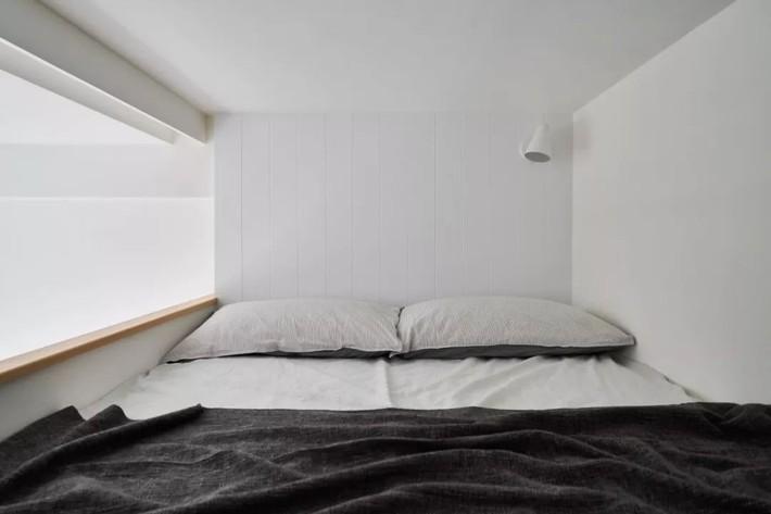 Căn hộ của cô gái độc thân chỉ 17.6m² mà ngỡ như 76m² với cách thiết kế thông minh   - Ảnh 13.