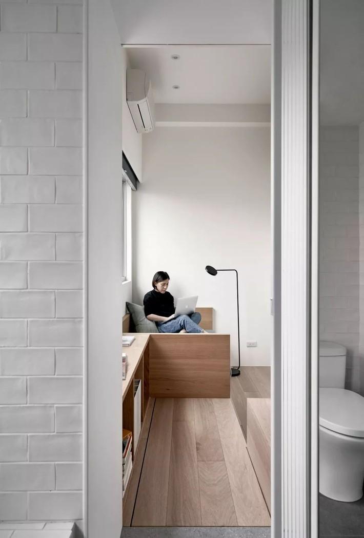 Căn hộ của cô gái độc thân chỉ 17.6m² mà ngỡ như 76m² với cách thiết kế thông minh   - Ảnh 12.