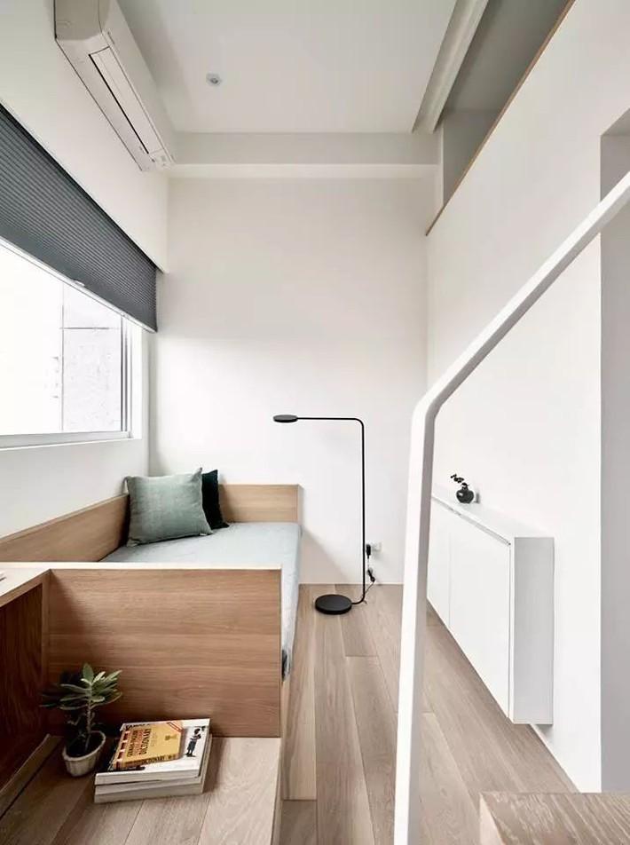 Căn hộ của cô gái độc thân chỉ 17.6m² mà ngỡ như 76m² với cách thiết kế thông minh   - Ảnh 11.
