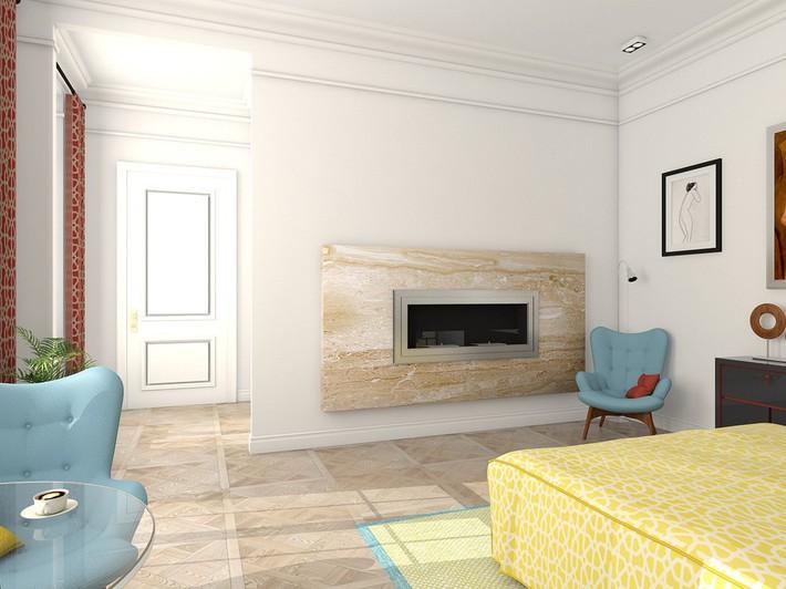 2 thiết kế phòng ngủ theo phong cách cổ điển khiến bạn không thể rời mắt - Ảnh 4.
