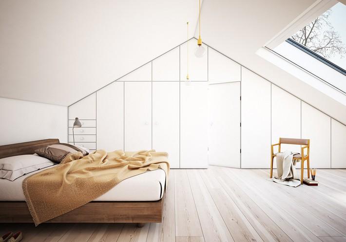 2 thiết kế phòng ngủ theo phong cách cổ điển khiến bạn không thể rời mắt - Ảnh 6.