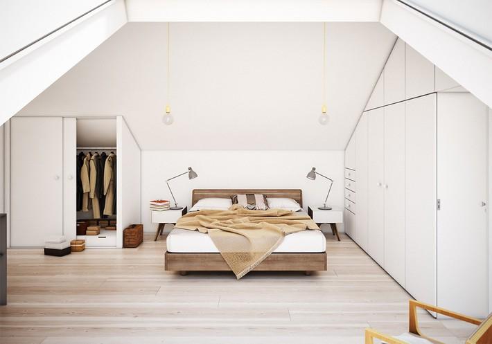 2 thiết kế phòng ngủ theo phong cách cổ điển khiến bạn không thể rời mắt - Ảnh 8.