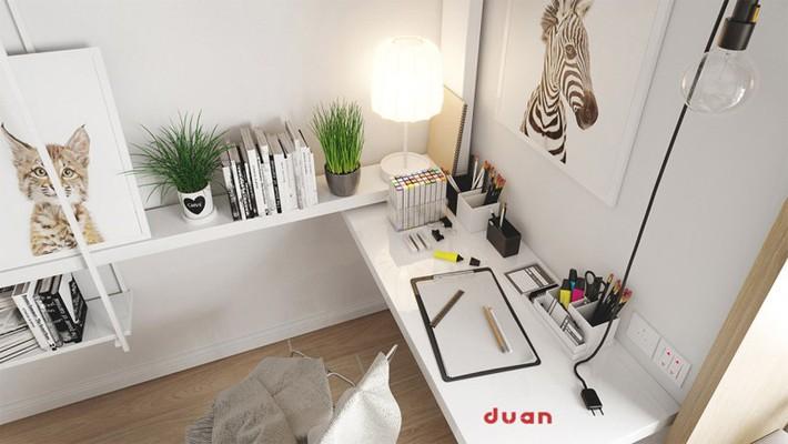 Học tập cách trang trí nội thất trong nhà tươi sáng theo phong cách Bắc Âu - Ảnh 1.