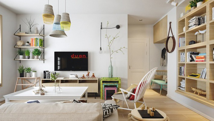 Học tập cách trang trí nội thất trong nhà tươi sáng theo phong cách Bắc Âu - Ảnh 11.