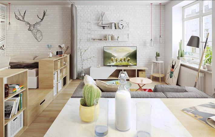 Học tập cách trang trí nội thất trong nhà tươi sáng theo phong cách Bắc Âu - Ảnh 14.