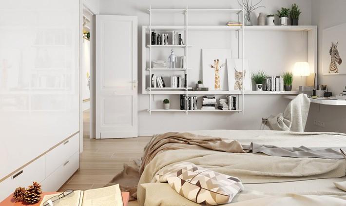 Học tập cách trang trí nội thất trong nhà tươi sáng theo phong cách Bắc Âu - Ảnh 2.