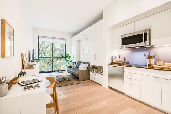 Cùng xem thiết kế của 6 căn hộ nhỏ đặc trưng ở các thành phố lớn trên khắp nước Mỹ - Ảnh 1.