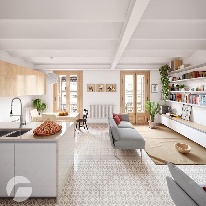 Học tập cách trang trí nội thất trong nhà tươi sáng theo phong cách Bắc Âu - Ảnh 3.