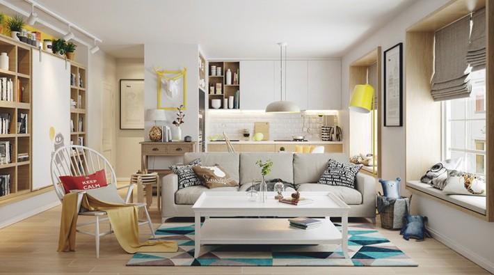 Học tập cách trang trí nội thất trong nhà tươi sáng theo phong cách Bắc Âu - Ảnh 5.