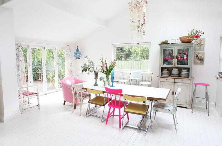 Học tập cách trang trí nội thất trong nhà tươi sáng theo phong cách Bắc Âu - Ảnh 6.