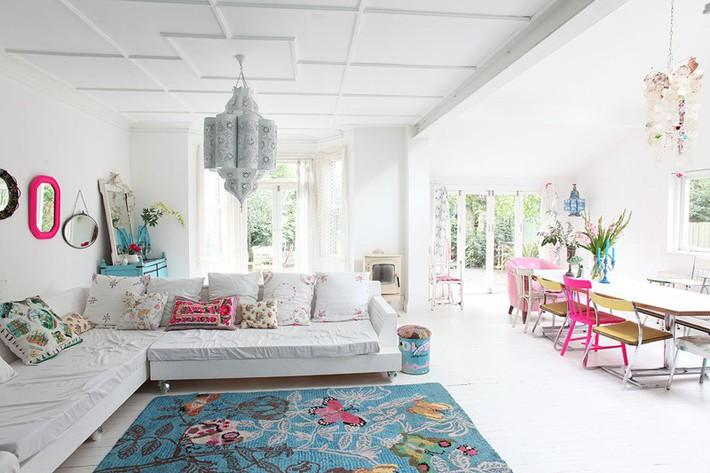 Học tập cách trang trí nội thất trong nhà tươi sáng theo phong cách Bắc Âu - Ảnh 7.