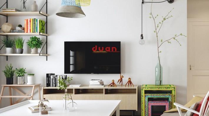 Học tập cách trang trí nội thất trong nhà tươi sáng theo phong cách Bắc Âu - Ảnh 9.