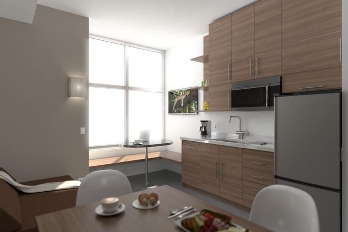 Cùng xem thiết kế của 6 căn hộ nhỏ đặc trưng ở các thành phố lớn trên khắp nước Mỹ - Ảnh 6.