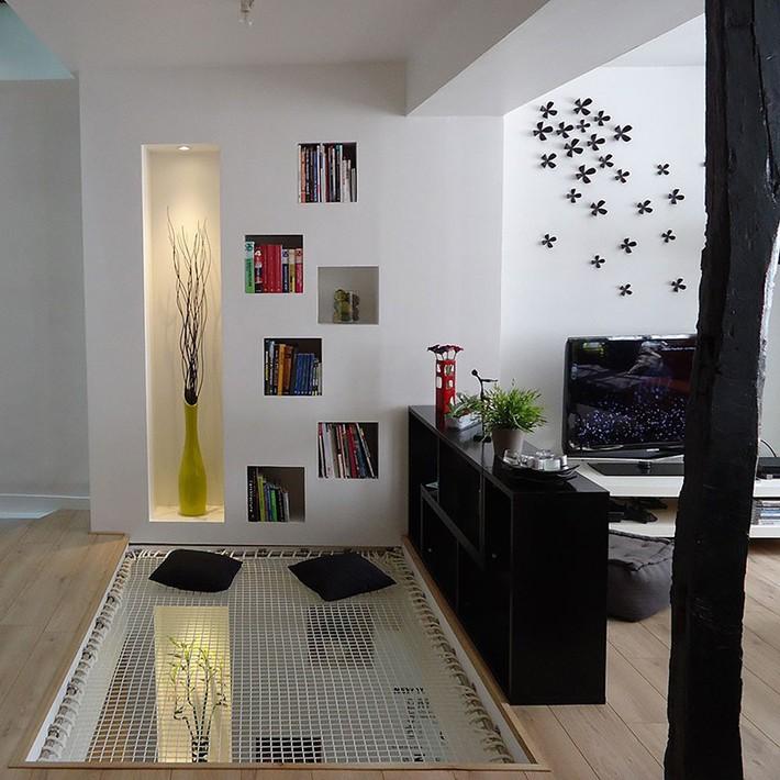 Sử dụng sàn võng cho ngôi nhà: Cách làm thông minh tạo ra không gian nghỉ ngơi khác biệt nhất - Ảnh 9.