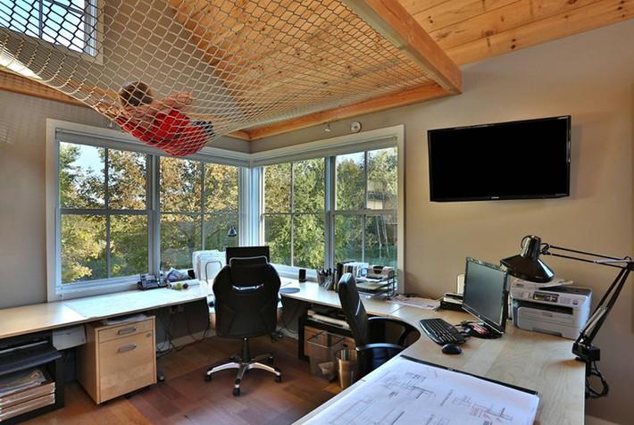Sử dụng sàn võng cho ngôi nhà: Cách làm thông minh tạo ra không gian nghỉ ngơi khác biệt nhất - Ảnh 10.