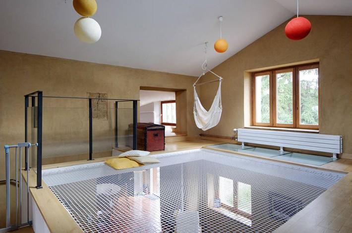 Sử dụng sàn võng cho ngôi nhà: Cách làm thông minh tạo ra không gian nghỉ ngơi khác biệt nhất - Ảnh 11.
