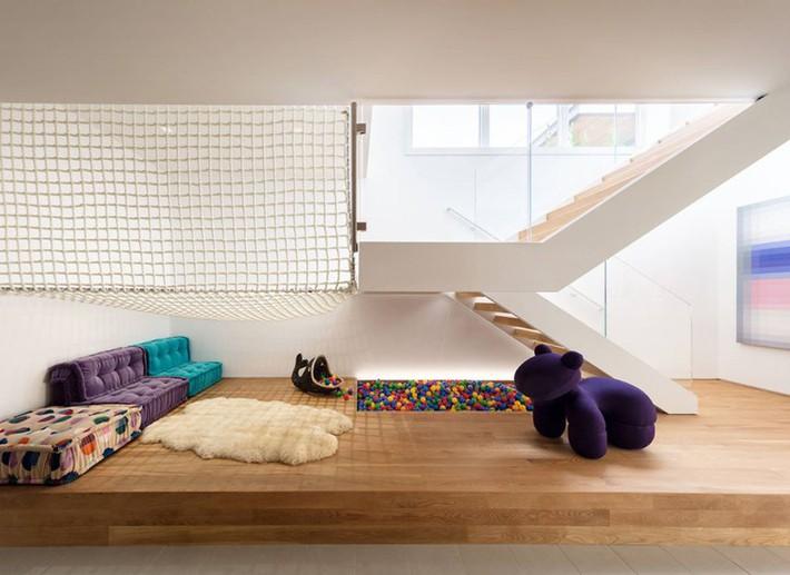 Sử dụng sàn võng cho ngôi nhà: Cách làm thông minh tạo ra không gian nghỉ ngơi khác biệt nhất - Ảnh 17.