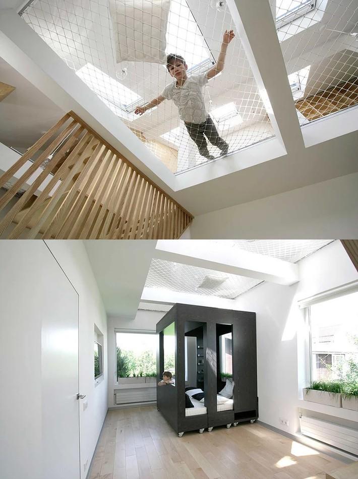 Sử dụng sàn võng cho ngôi nhà: Cách làm thông minh tạo ra không gian nghỉ ngơi khác biệt nhất - Ảnh 18.