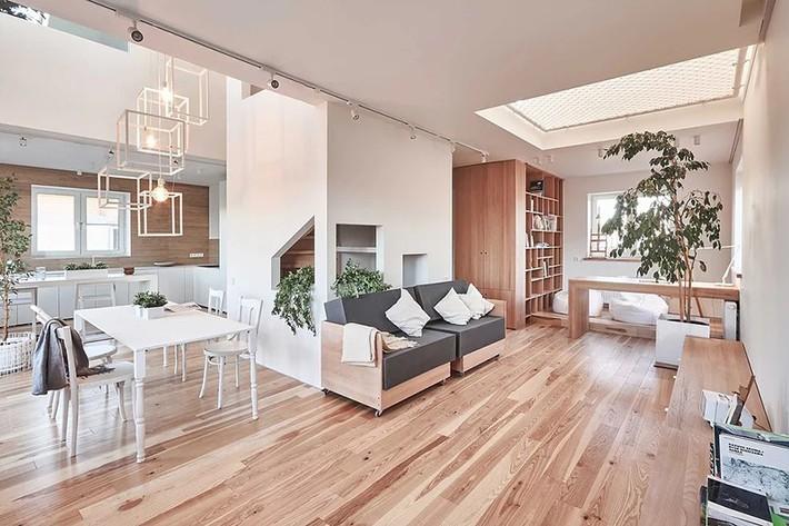 Sử dụng sàn võng cho ngôi nhà: Cách làm thông minh tạo ra không gian nghỉ ngơi khác biệt nhất - Ảnh 3.