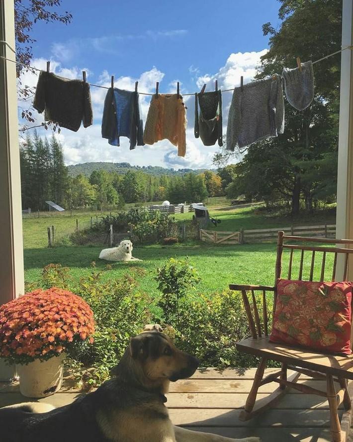 Cuộc sống bình yên, tự tại trong ngôi nhà ngập tràn nắng gió và hương thơm vạn người mơ ước - Ảnh 4.