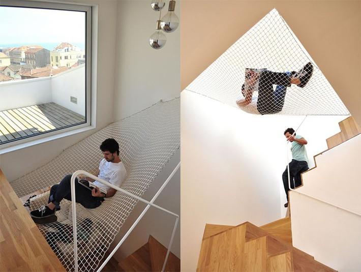 Sử dụng sàn võng cho ngôi nhà: Cách làm thông minh tạo ra không gian nghỉ ngơi khác biệt nhất - Ảnh 6.