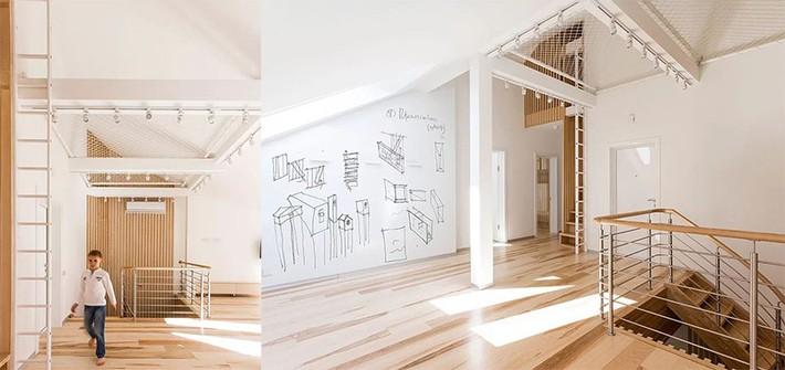 Sử dụng sàn võng cho ngôi nhà: Cách làm thông minh tạo ra không gian nghỉ ngơi khác biệt nhất - Ảnh 7.