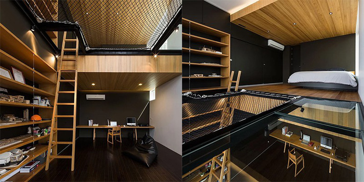 Sử dụng sàn võng cho ngôi nhà: Cách làm thông minh tạo ra không gian nghỉ ngơi khác biệt nhất - Ảnh 8.