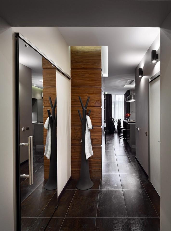 Trầm trồ với cách bài trí căn hộ nhỏ nhưng cực sang và thời trang - Ảnh 4.