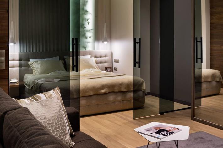 Trầm trồ với cách bài trí căn hộ nhỏ nhưng cực sang và thời trang - Ảnh 7.