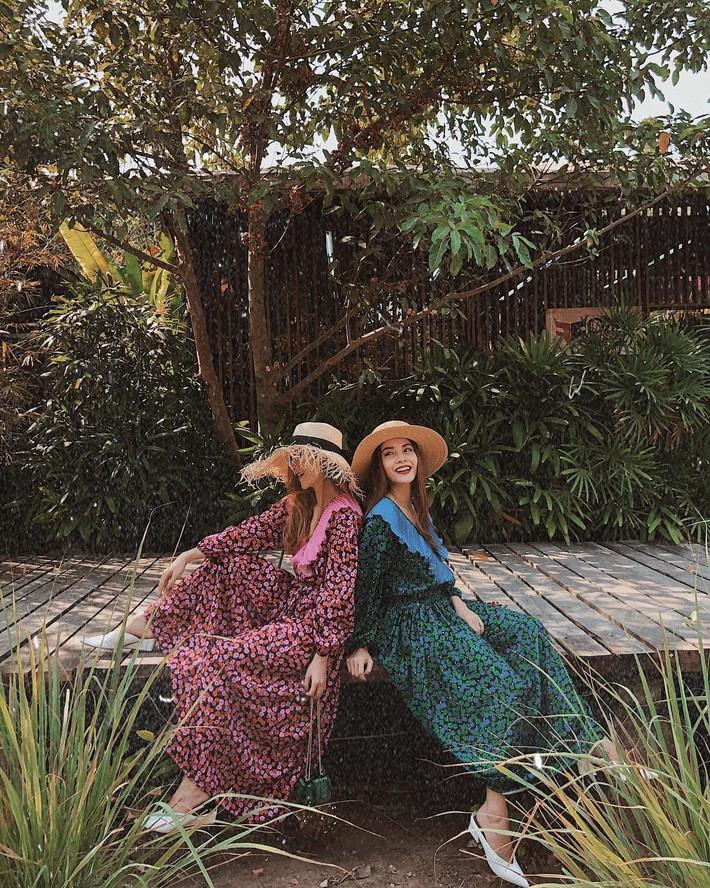 Tiện một công tung tăng diện váy xinh, loạt sao Việt gián tiếp gợi ý cho các chị em những mẫu váy liền đáng sắm nhất trong hè này - Ảnh 13.